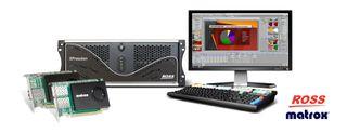 SMPTE ST 2110: Ross Video's XPression + Matrox DSX LE5 D25 and DSX LE5 Q25 NIC