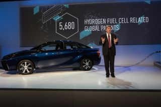 toyota vp with car