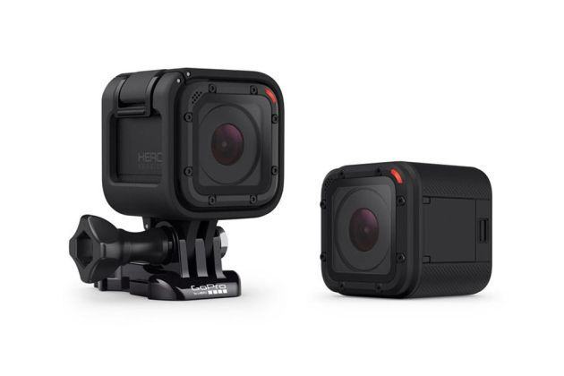 GoPro session bike camera