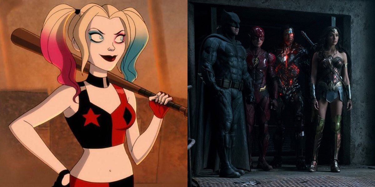 Harley Quinn ties into the Release the Snyder Cut movement.