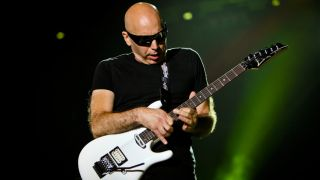 Satriani is on his way to the UK...