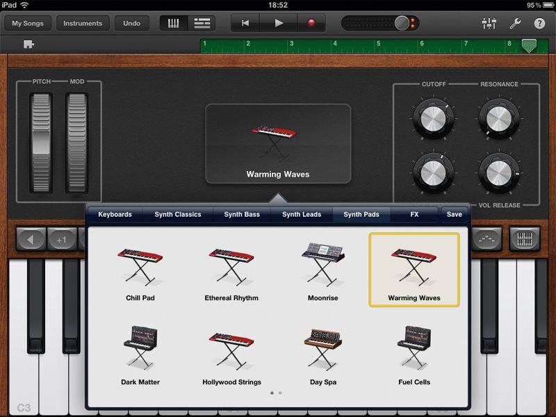 GarageBand for iPad 1 0 review | TechRadar