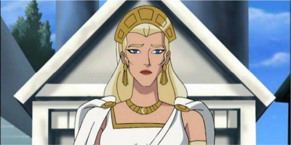 queen hippolyta animated dc cartoon