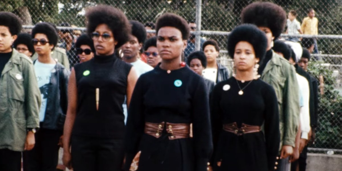 Members of the Black Panther Party in The Black Panthers: Vanguards Of The Revolution