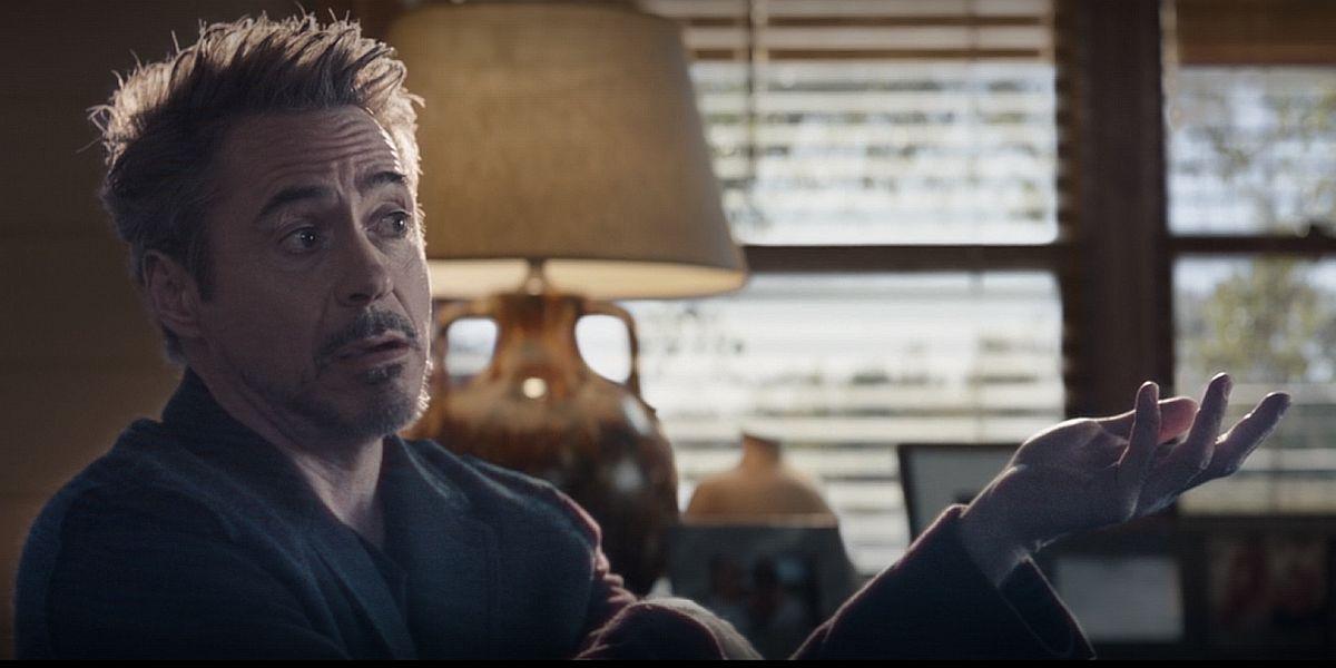 Tony Stark hologram in Avengers: Endgame