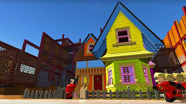 LEGO The Incredibles Up House