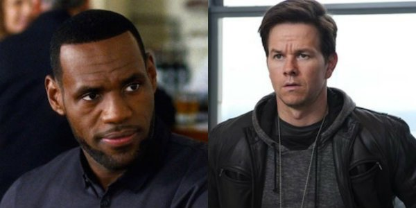 Lebron James Mark Wahlberg