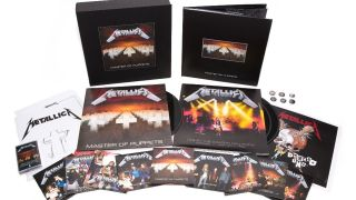 Metallica Master of Puppets box set