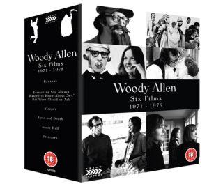 Woody Allen Six Films 1971 1978 slipcase