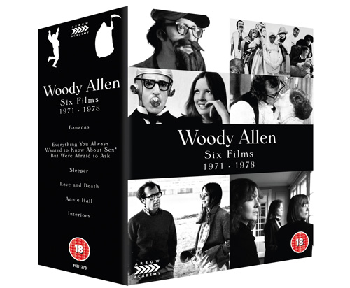 Woody Allen Six Films 1971 1978 slipcase