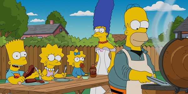 The Simpsons BBQ