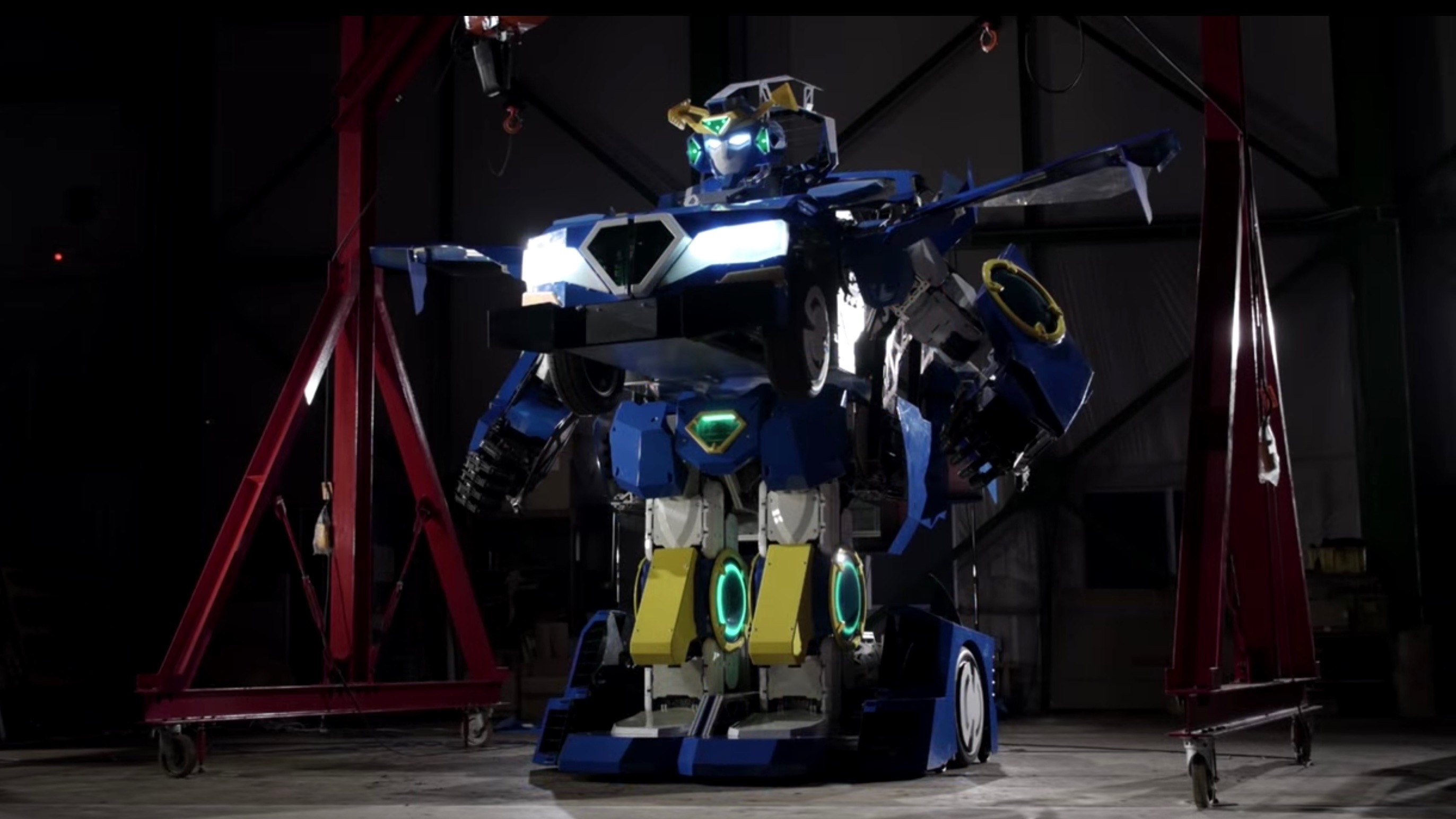 Real-life Transformers could be coming to an amusement park near you