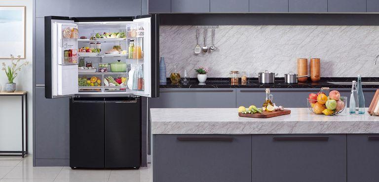 food storage - LG fridge freezer - Real Homes