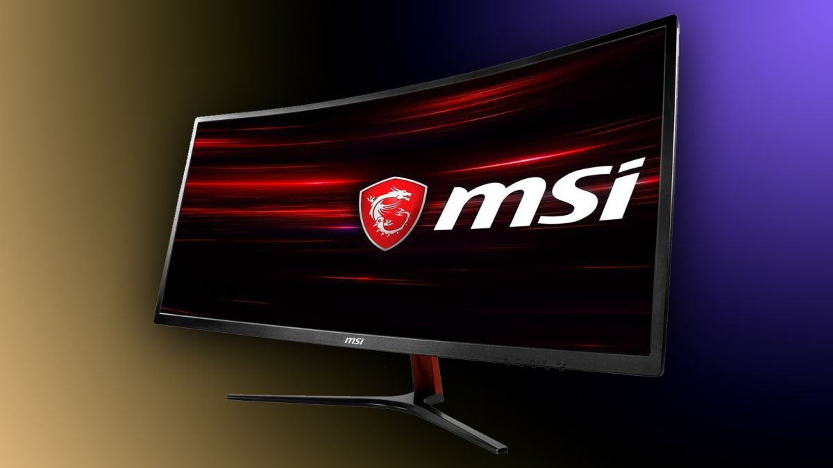 Get this 34-inch MSI QHD Curved Ultrawide 100Hz Gaming Monitor for $60 off