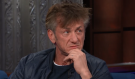 Watch Sean Penn's Bizarre Appearance On The Late Show With Stephen Colbert