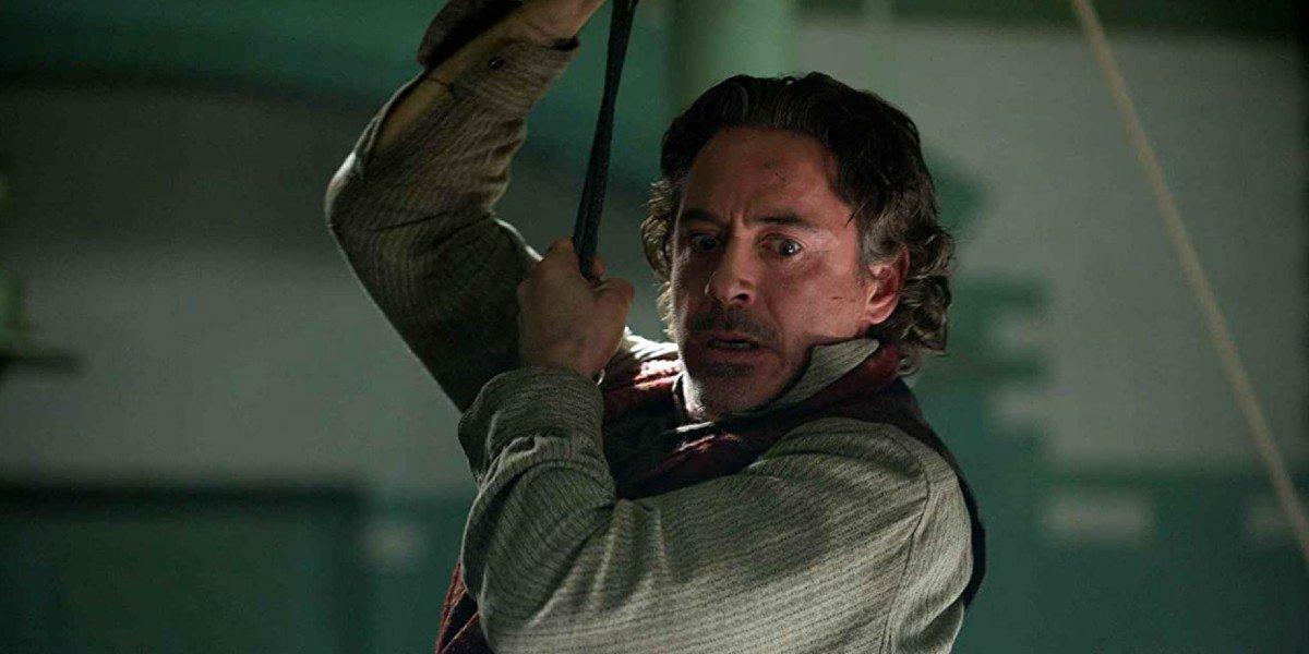 Robert Downey Jr. in Sherlock Holmes: A Game of Shadows