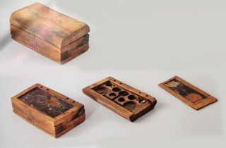 A 1,200-year-old wooden object claimed to be the ancient equivalent of a tablet computer has been discovered in Turkey.