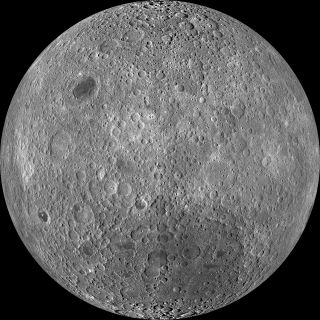 This image, taken by NASA's Lunar Reconnaissance Orbiter spacecraft, is the most detailed view of the moon's far side to date.
