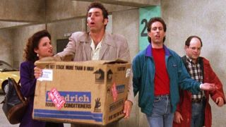 'Seinfeld' makes its official debut on new home Comedy Central on Oct. 11.