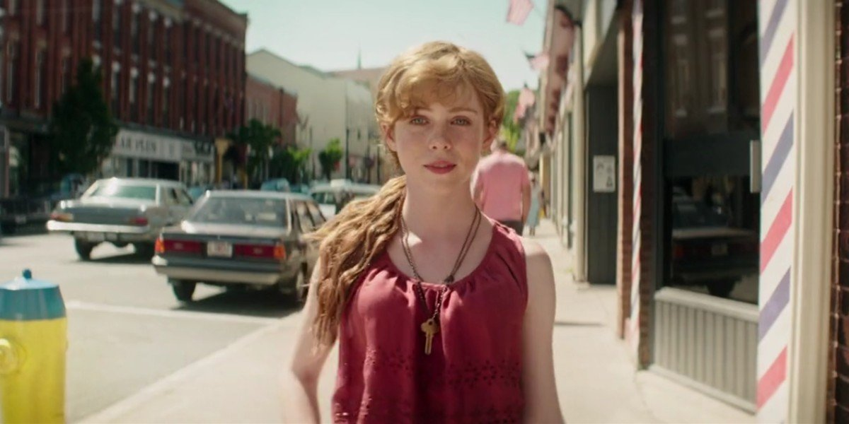 Sophia Lillis as Beverly in IT: Chapter One