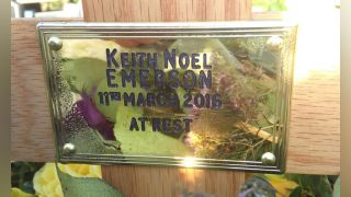 Keith Emerson's grave