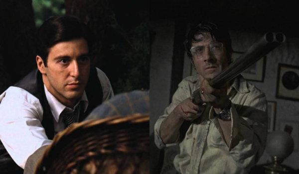 Al Pacino The Godfather Dustin Hoffman Straw Dogs