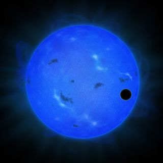 Gliese 1214 b Artist's Rendition