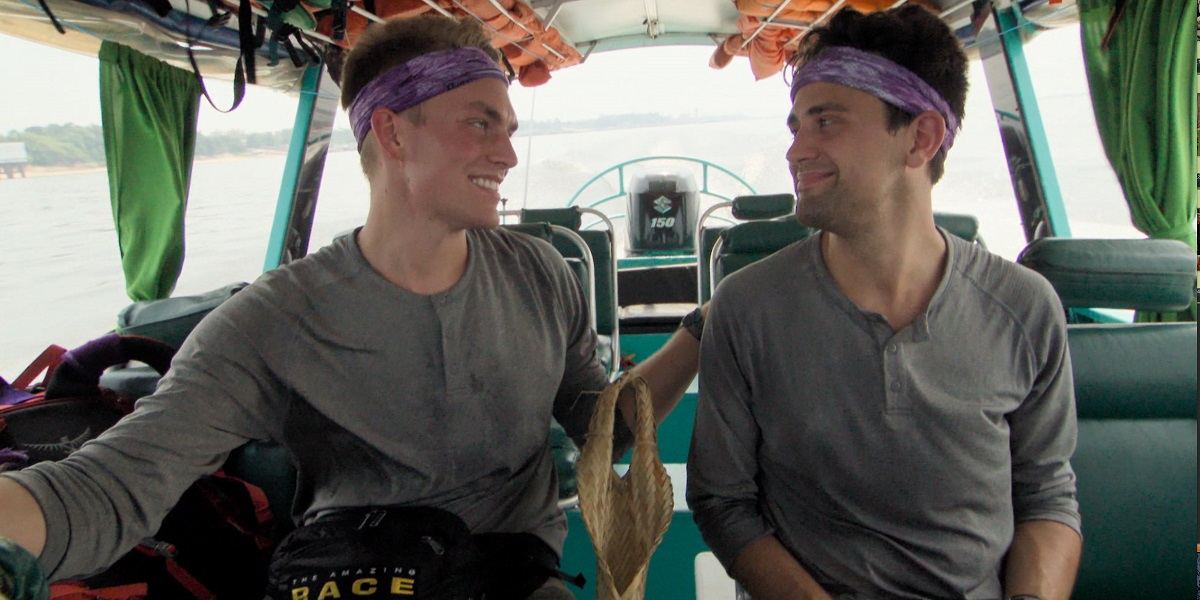 Will Jardell and James Wallington The Amazing Race CBS