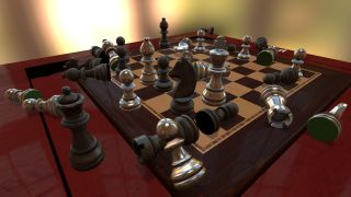 Tabletop simulator chess board