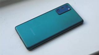 Samsung Galaxy S21 FE light green