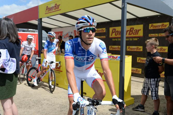 Thibaut Pinot (FDJ looking relaxed