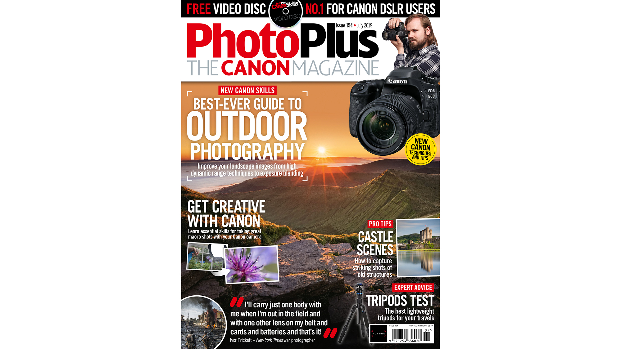 Amazing new issue no.154 of PhotoPlus: The Canon Magazine now on sale! | Digital Camera World