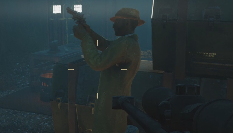 Fallout 76's VATS makes it tough for the Mysterious Stranger to be
