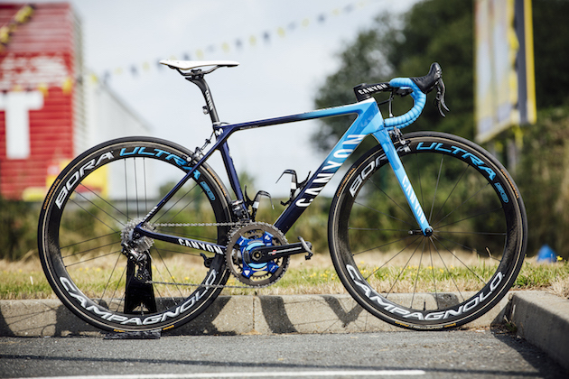 Pro bikes: Nairo Quintana's Canyon Ultimate CF SLX (video) - Cycling