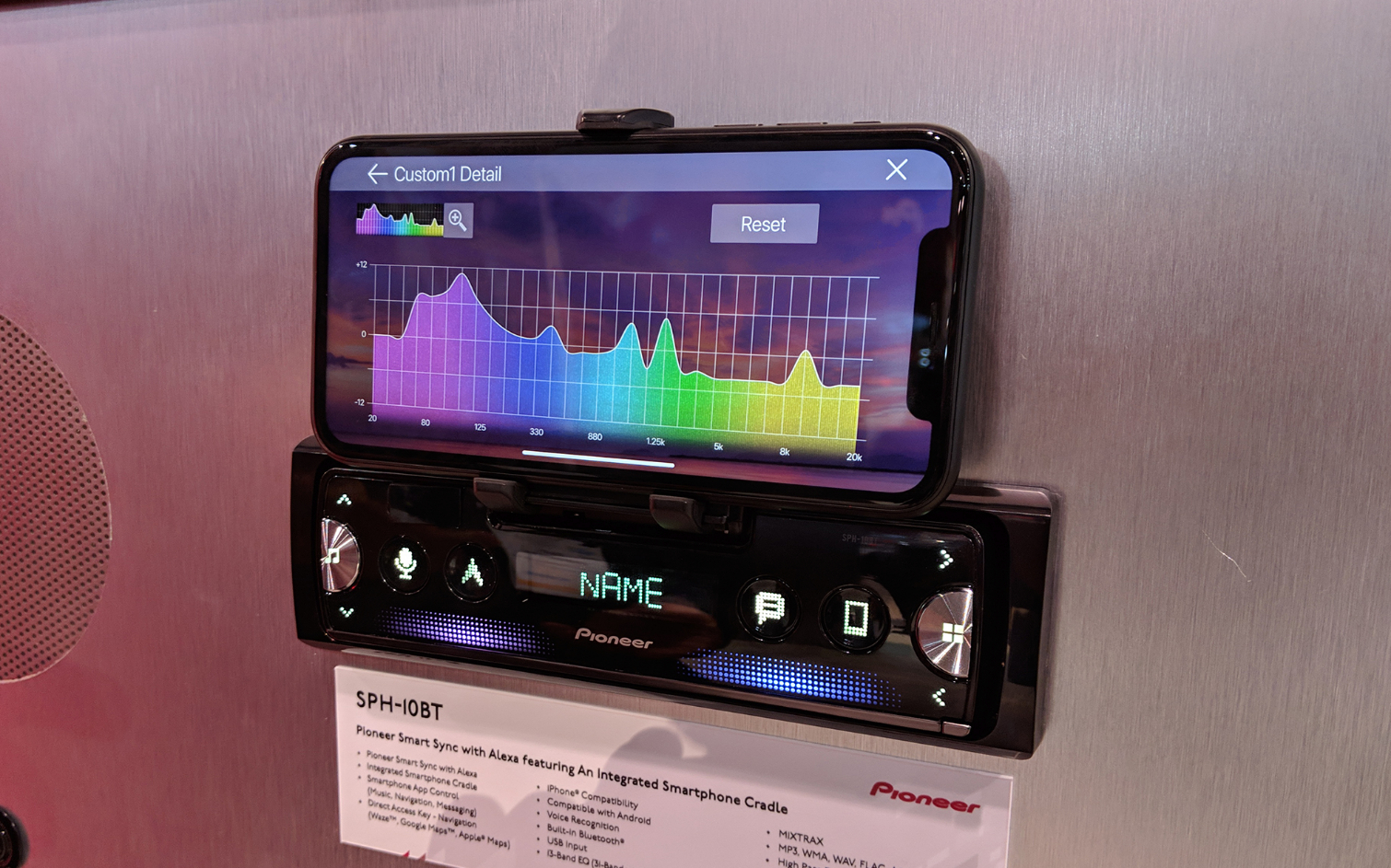 Pioneer's New Car Stereo Turns Your Phone Into an