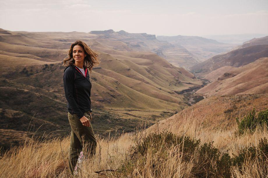 Julia Bradbury on TUI tour in South Africa