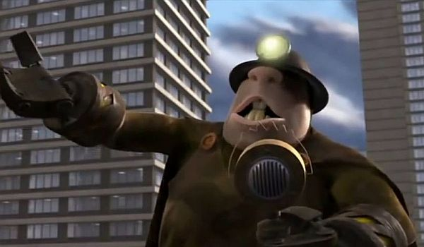 the  underminer in incredibles 2