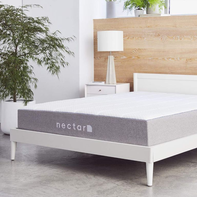 Nectar mattress discount: Nectar mattress on bed in bedroom