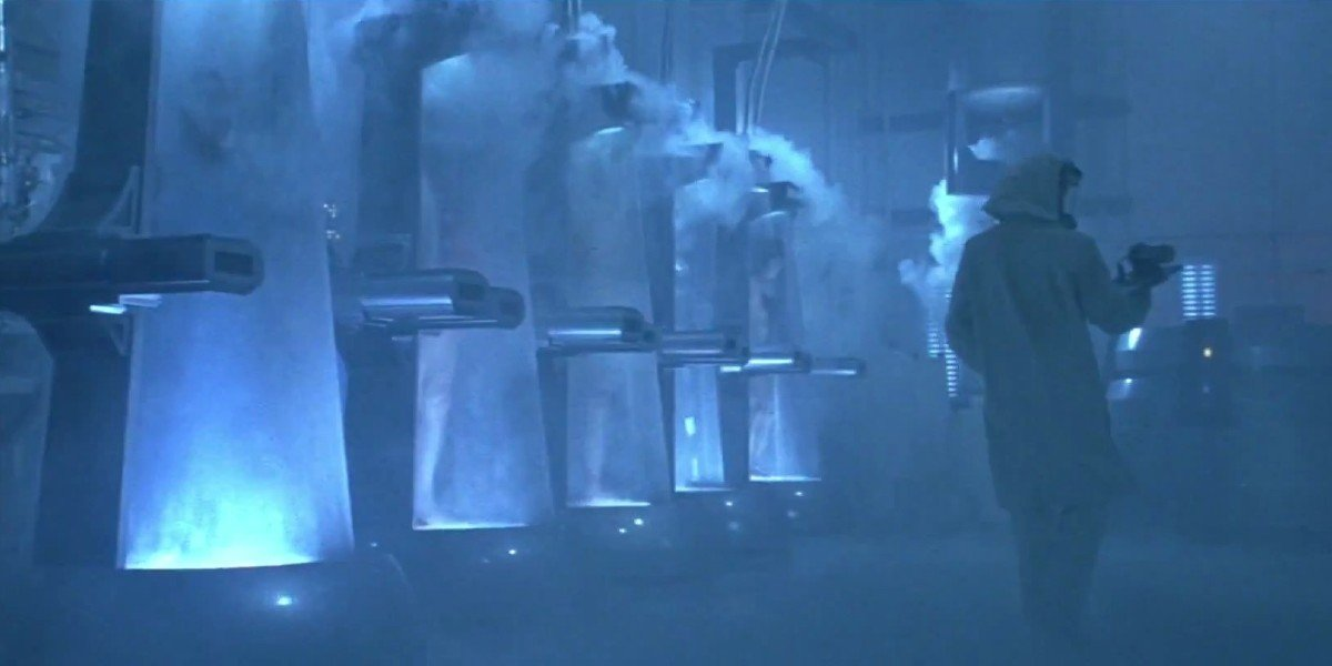 Freezing scene From Austin Powers: International Man of Mystery
