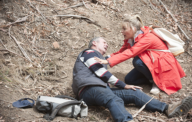 Karl Kennedy is hurt!