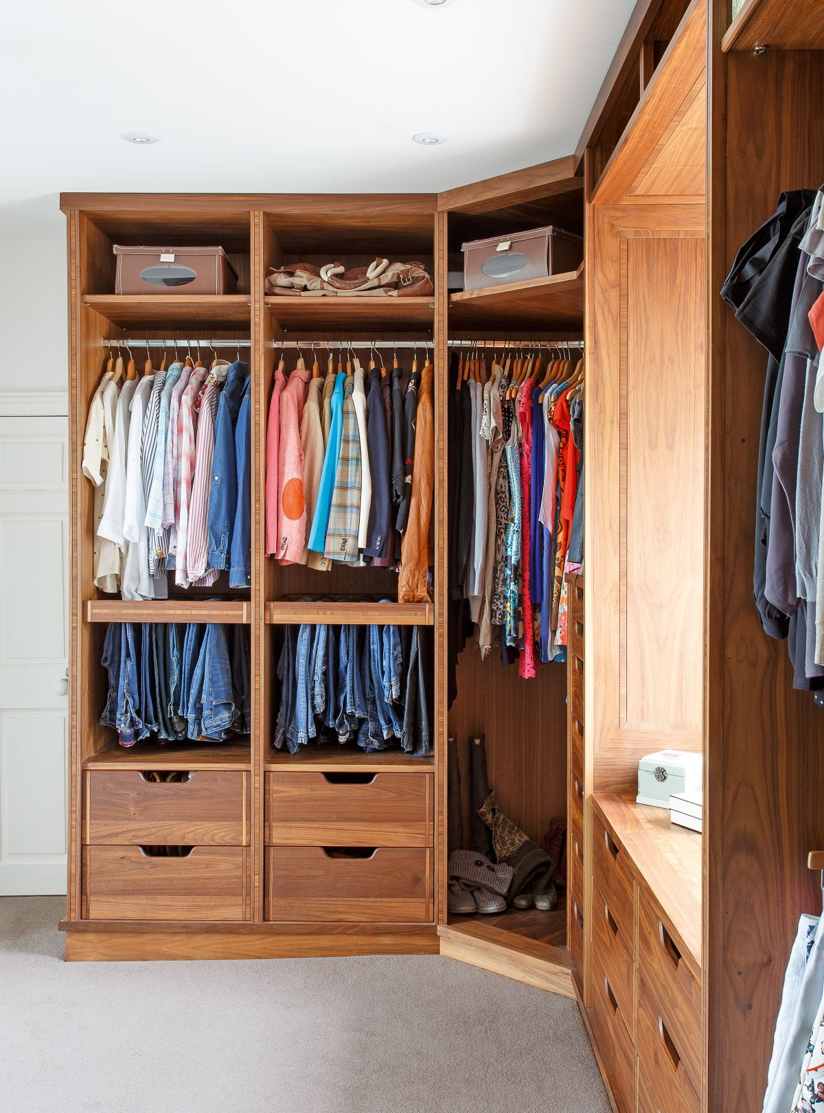 Dressing room ideas: 16 ways to create a walk-in wardrobe