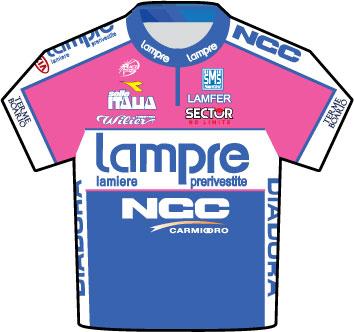 Lampre Tour de France 2009 team jersey