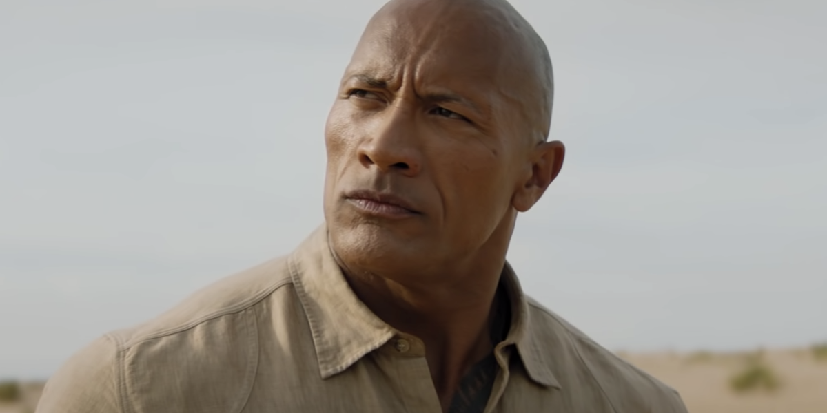 The Rock in Jumanji: The Next Level