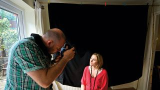 Photo hack: make your own studio backdrop and background support