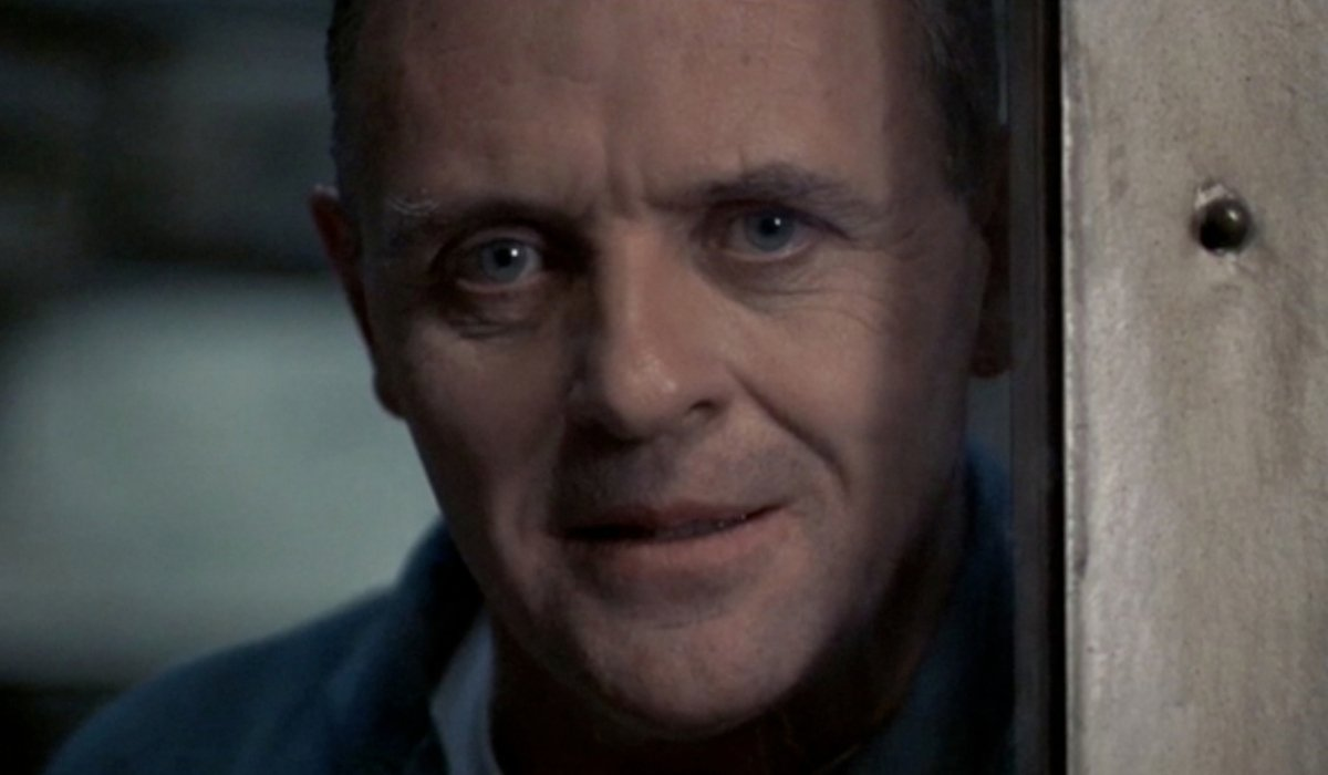 The Silence Of The Lambs Hannibal Lecter looking out of his cell