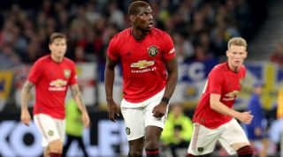 Paul Pogba Manchester United Real Madrid