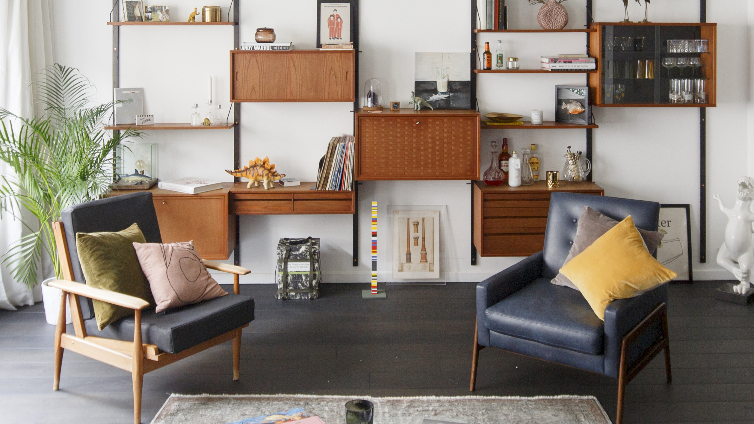 How to create a Mid-century-inspired living room  Real Homes