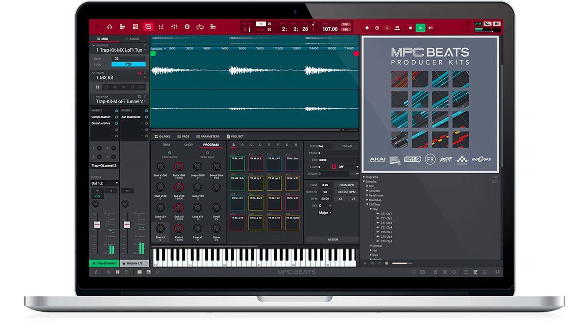 Akai's MPC Beats is a free 'beatmaking DAW' that puts the classic MPC workflow on your PC or Mac