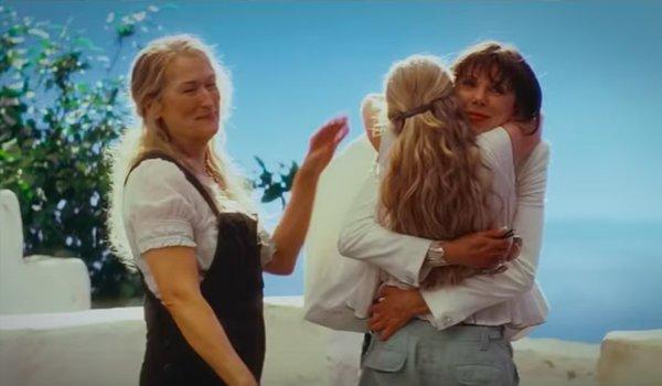 Mamma Mia: Here We Go Again Meryl Streep Amanda Seyfried Christine Baranski