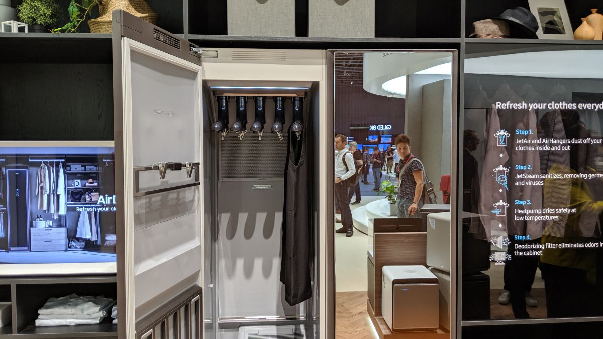 Samsung's AirDresser Is a Closet that Keeps Your Clothes